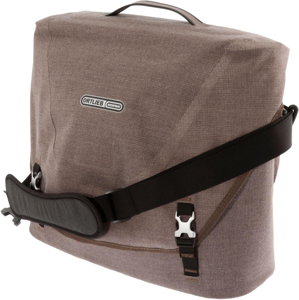 Courier Bag City Fahrradtasche in braun, Größe L