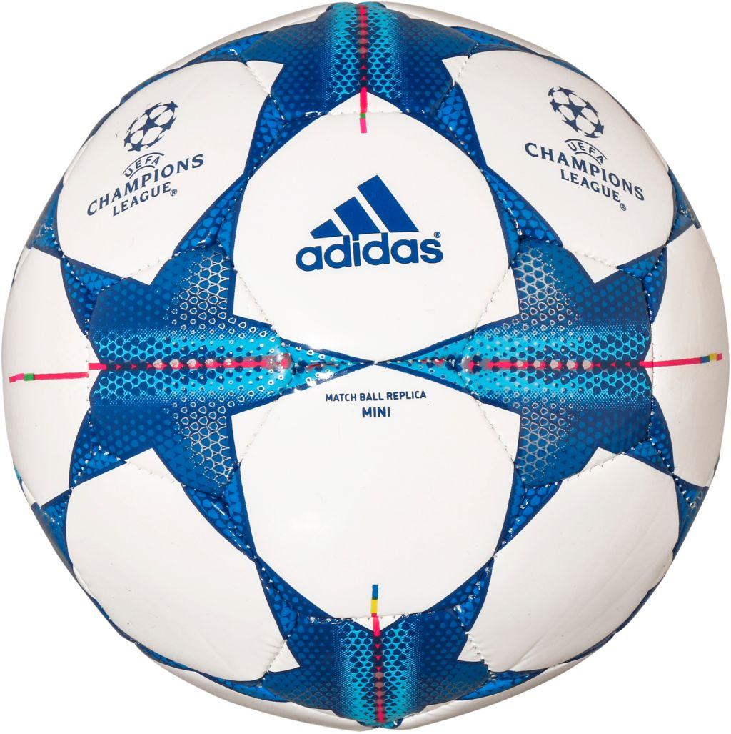 CL Mini Replica Fußball in weiß, Größe 1