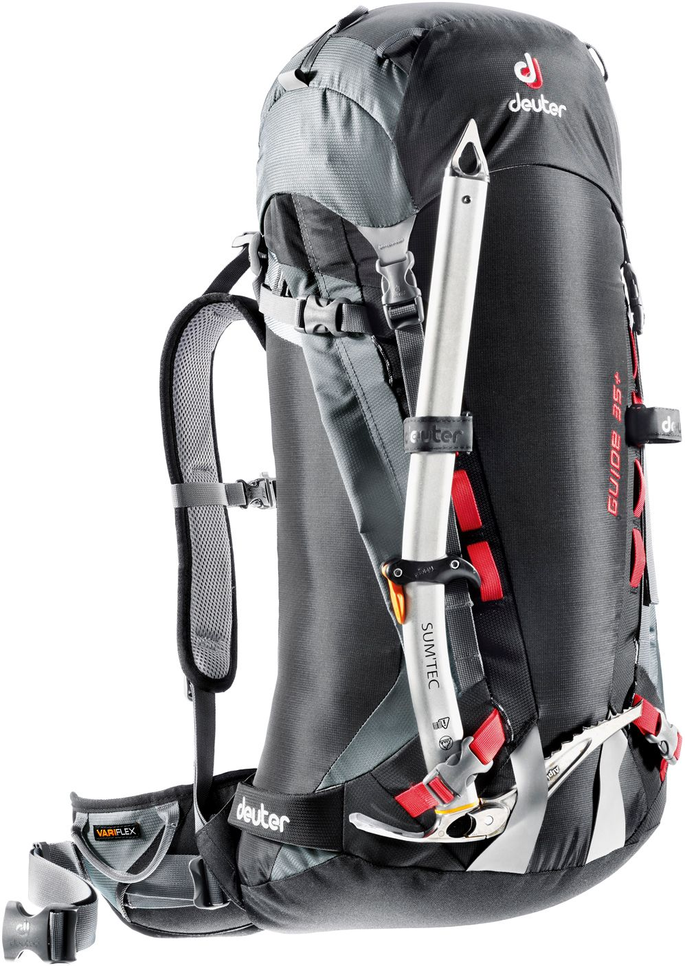 Guide 35+ Alpinrucksack in schwarz
