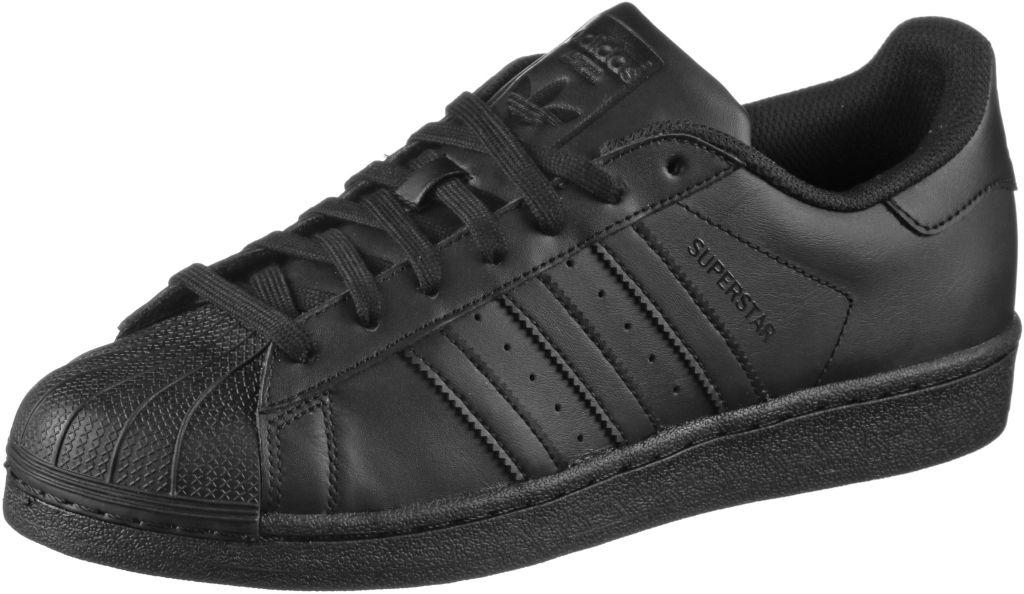 Superstar Sneaker Herren in schwarz, Größe 42