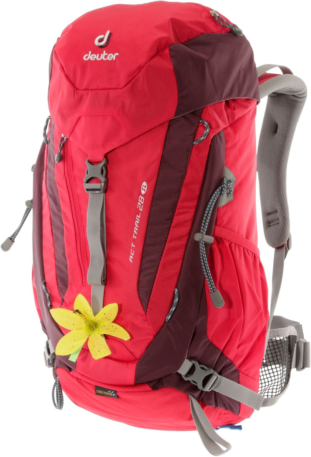 ACT Trail 28SL Alpinrucksack in rot