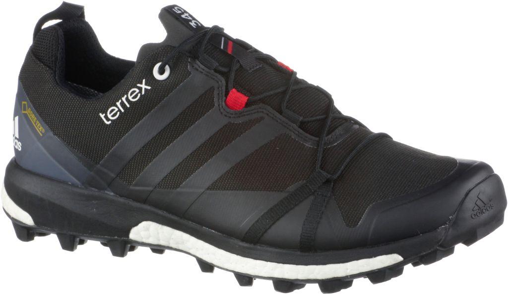 Terrex Agravic GTX Mountain Running Schuhe Herren in schwarz, Größe 45 1/3