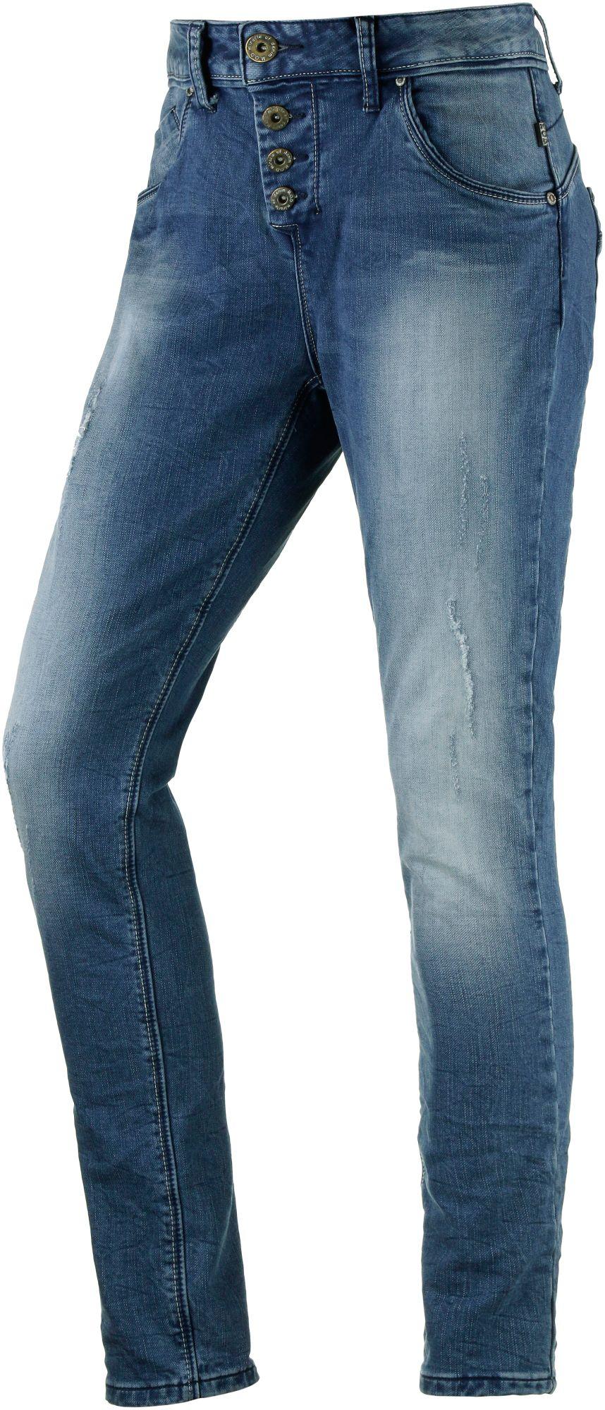 Iliana Sweat Jeans Damen in blau, Größe 27 / 32