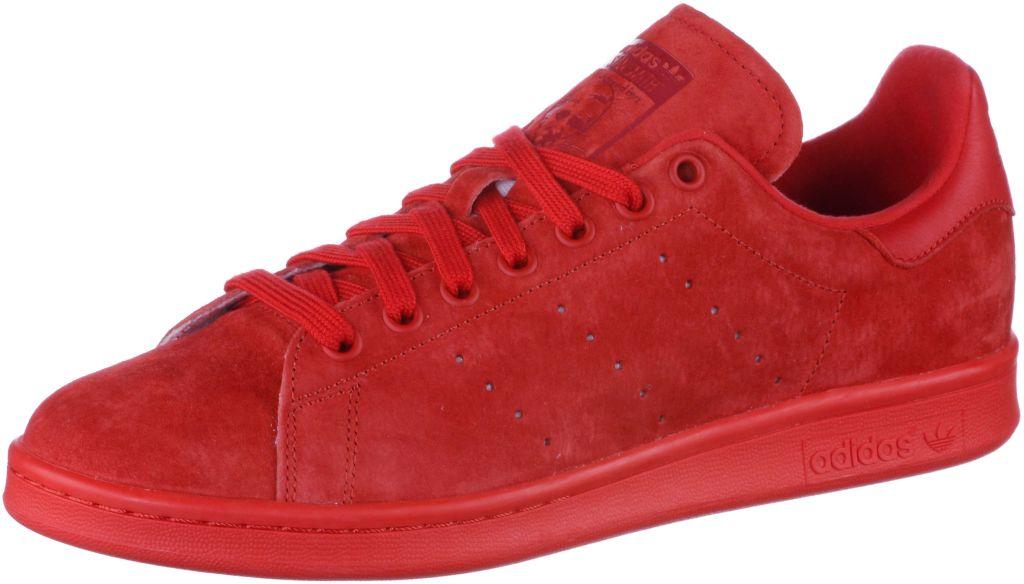 Stan Smith Sneaker in rot, Größe 40
