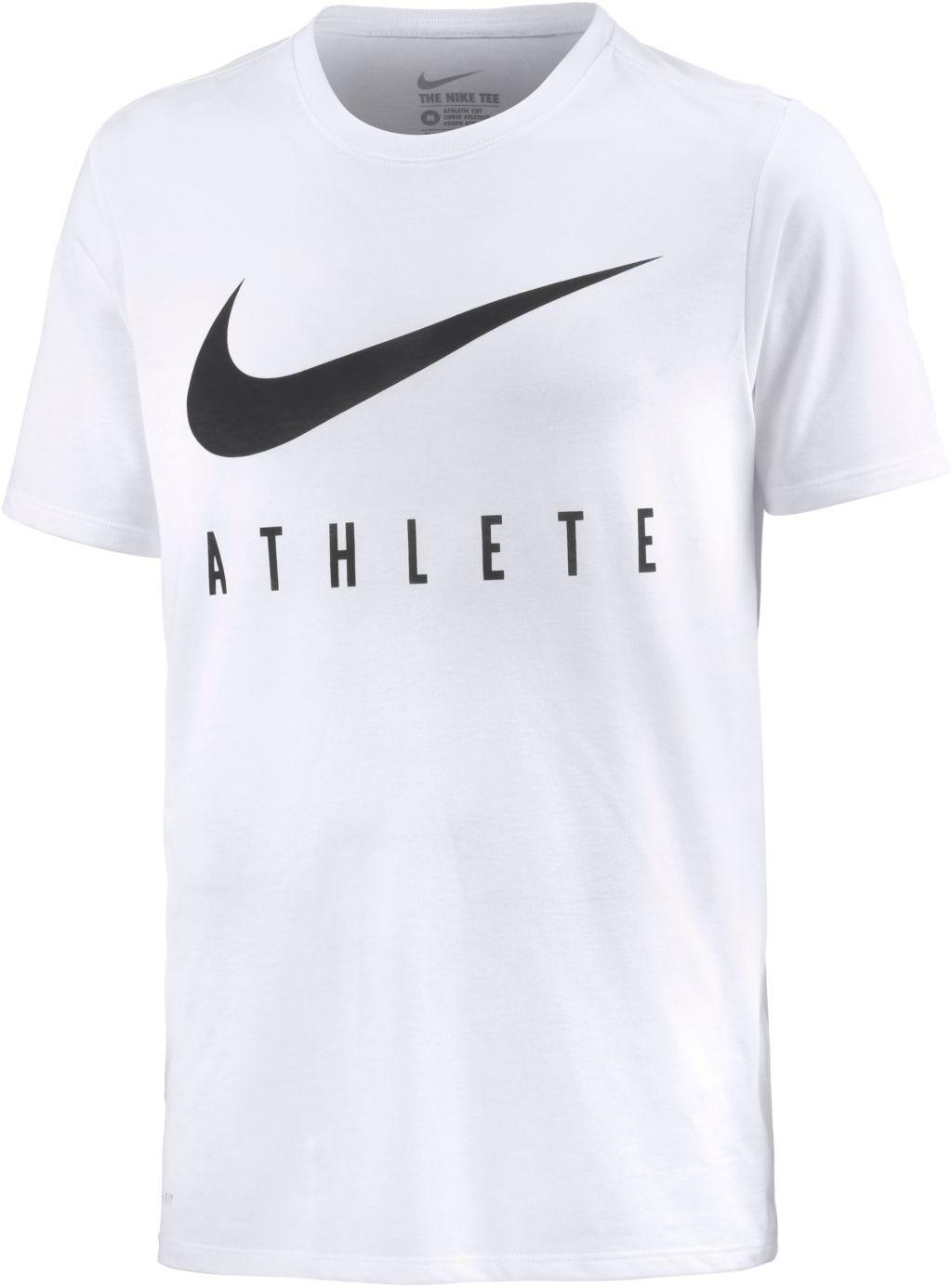 Swoosh Athlete Funktionsshirt Herren in weiß, Größe M