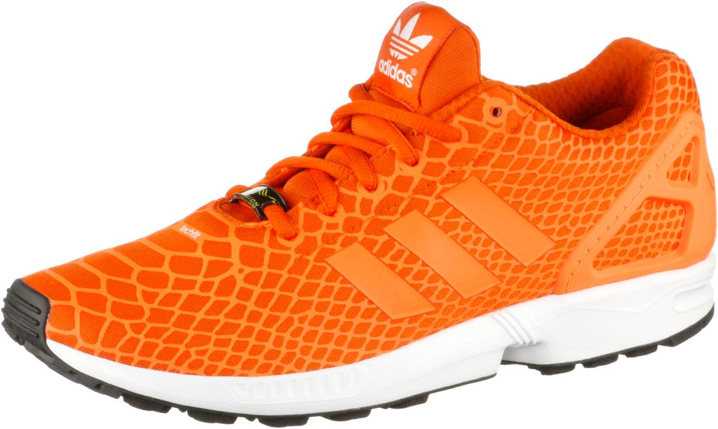 ZX Flux Techfit Sneaker Herren in orange, Größe 44 2/3
