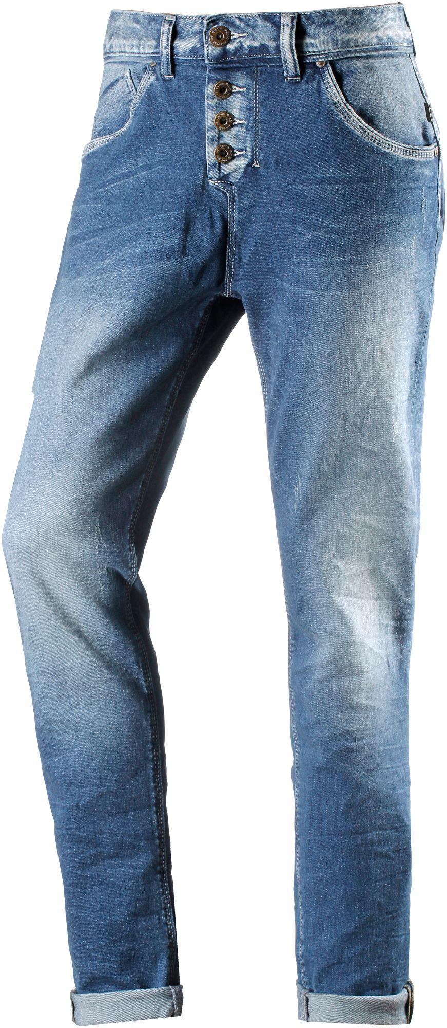 Iliana Boyfriend Boyfriend Jeans Damen in blau, Größe 27 / 32