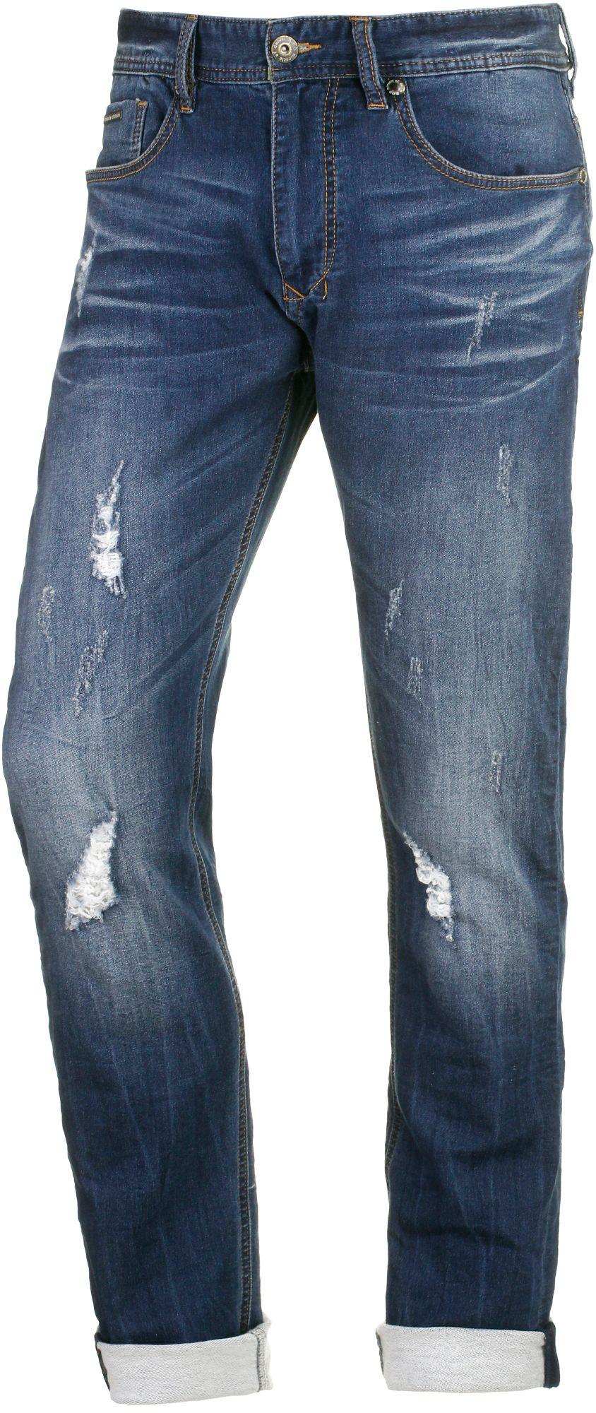 Cornell Sweat Jeans Herren in blau, Größe 34 / 32