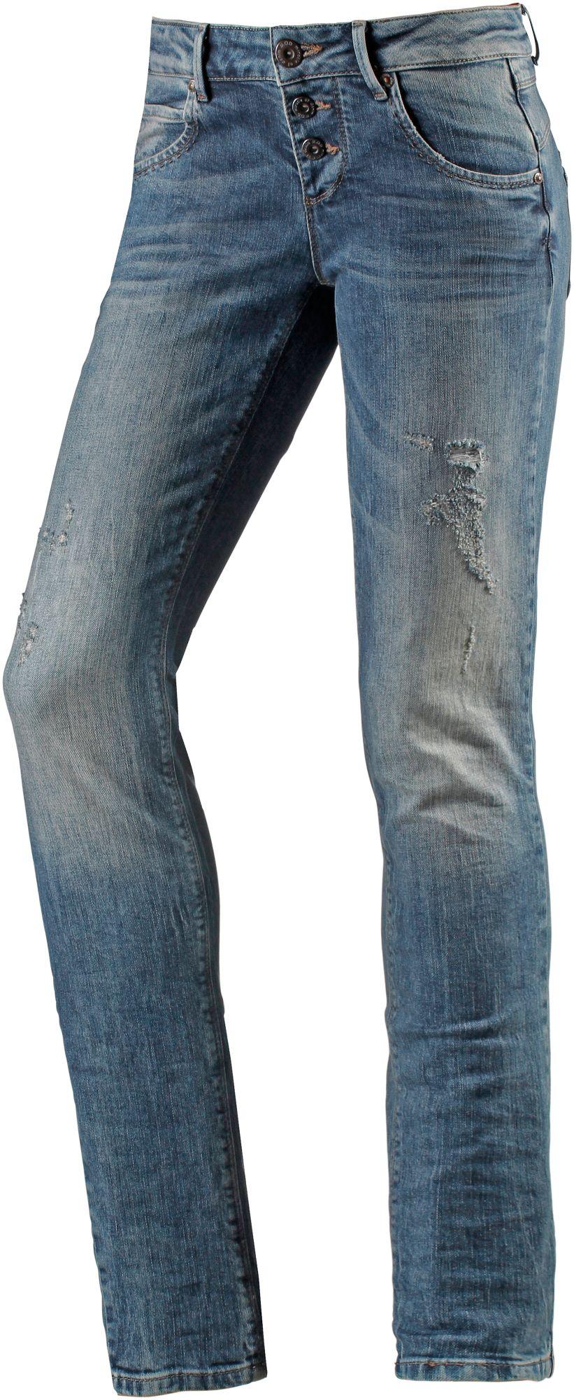 Ulla Skinny Fit Jeans Damen in blau, Größe 31 / 32