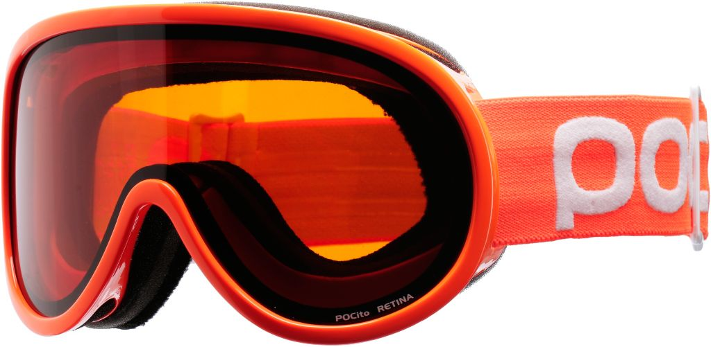 POCito Retina Skibrille in orange/orange no mirror