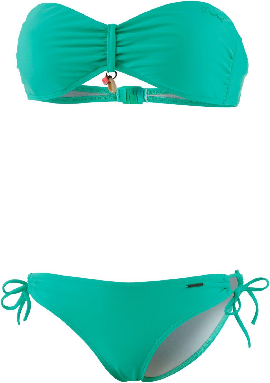 Akando Bandeau Bikini Damen in grün, Größe XL