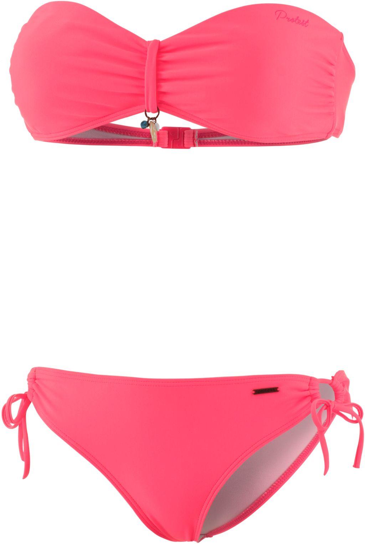 Akando Bandeau Bikini Damen in rosa, Größe XL