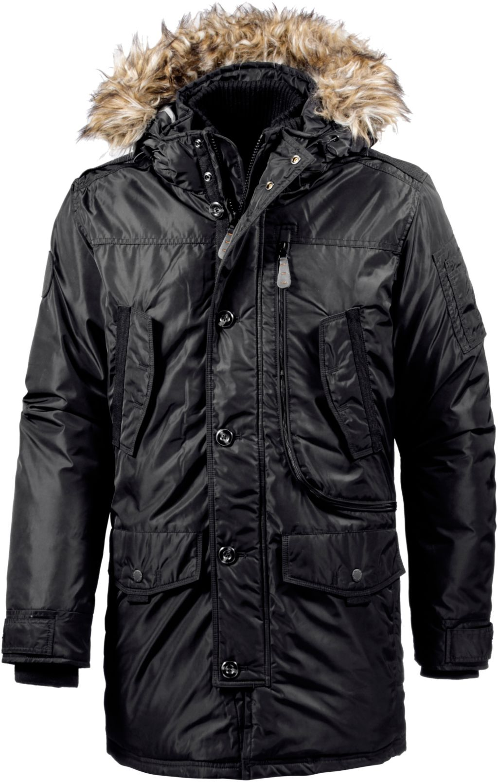 tom tailor parka herren in schwarz gr e xl tom tailor 5 95 versand. Black Bedroom Furniture Sets. Home Design Ideas