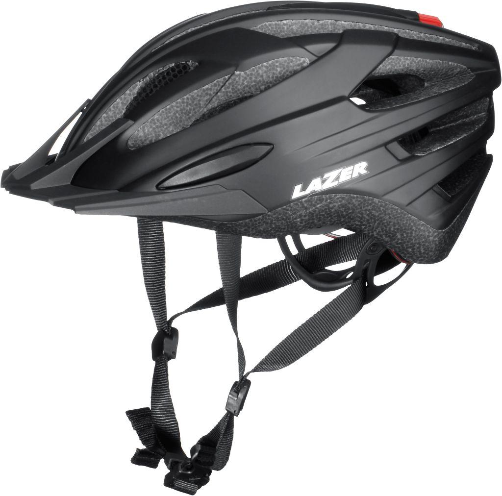 Vandal Fahrradhelm in schwarz, Größe 52-56