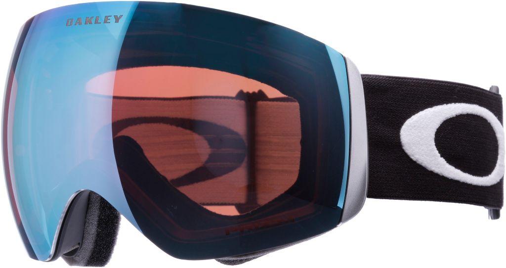 Prizm Flight Deck Skibrille in matte black/prizm sapphire iridium