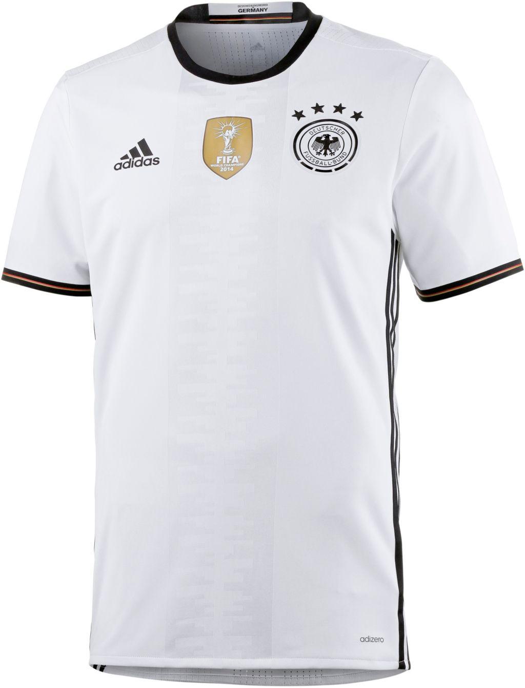 DFB EM 2016 Authentic Heim Fußballtrikot Herren in weiß, Größe S