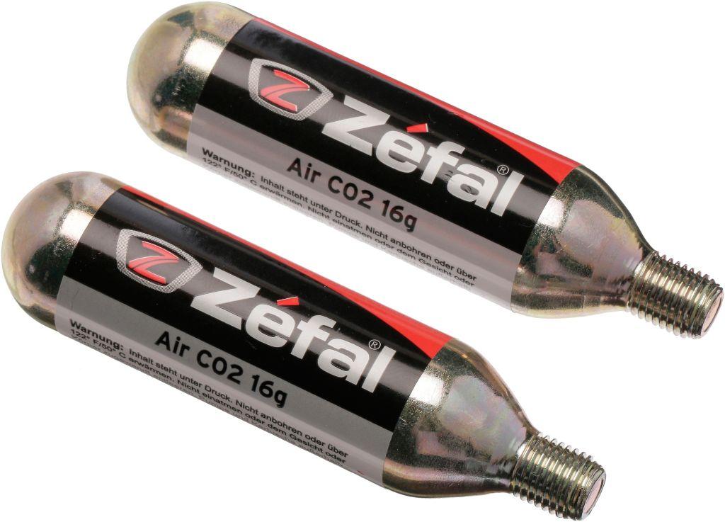 CO2 Kartuschen EZ Twist Gaskartusche in schwarz
