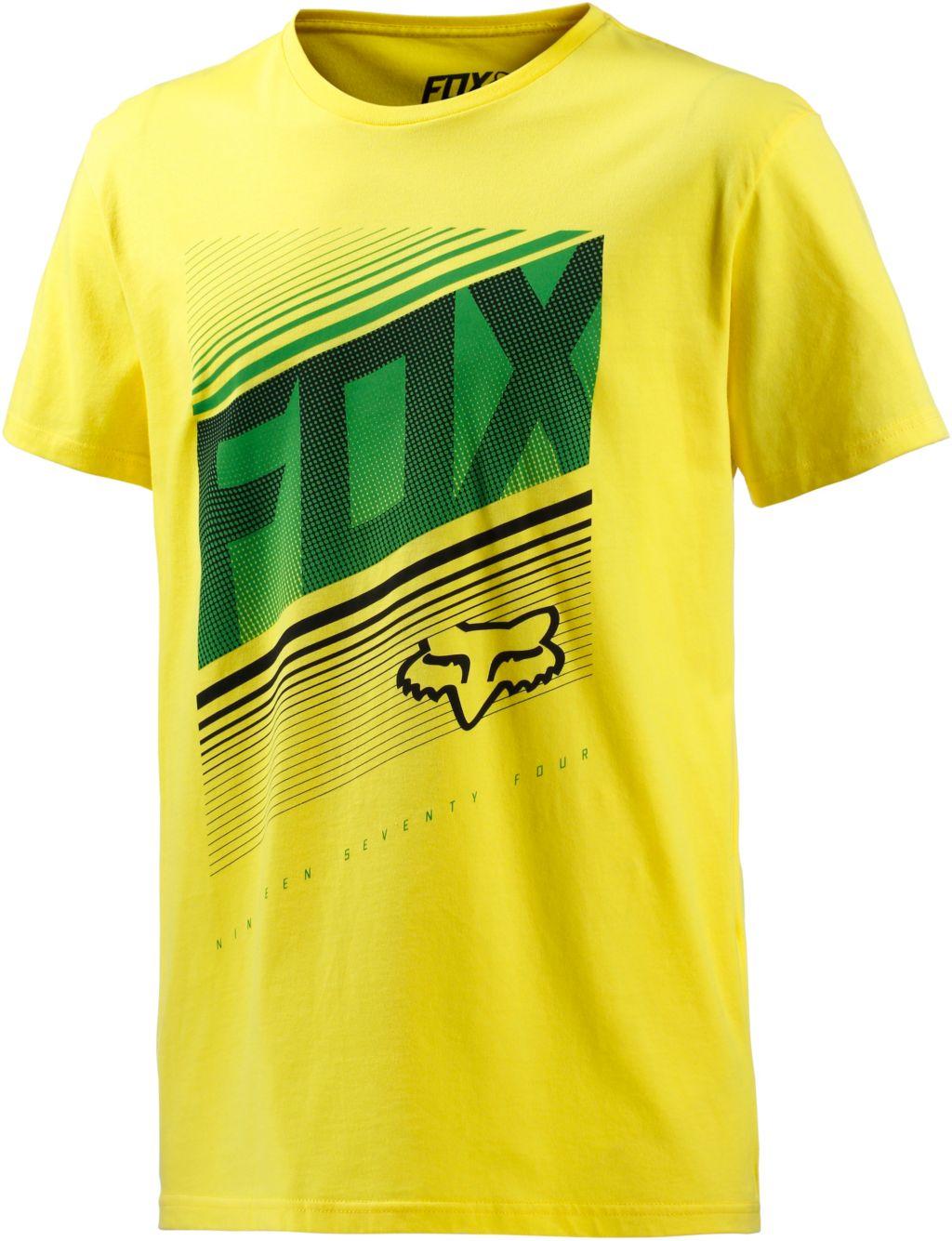 Static T-Shirt Herren in gelb, Größe S
