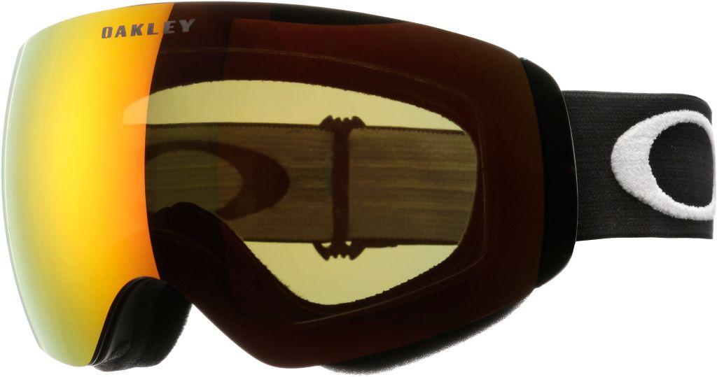 FLIGHT DECK XM Skibrille in matte black/fire iridium