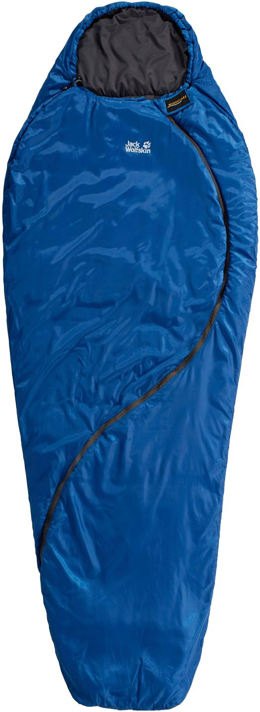 Smoozip +3 Kunstfaserschlafsack in blau