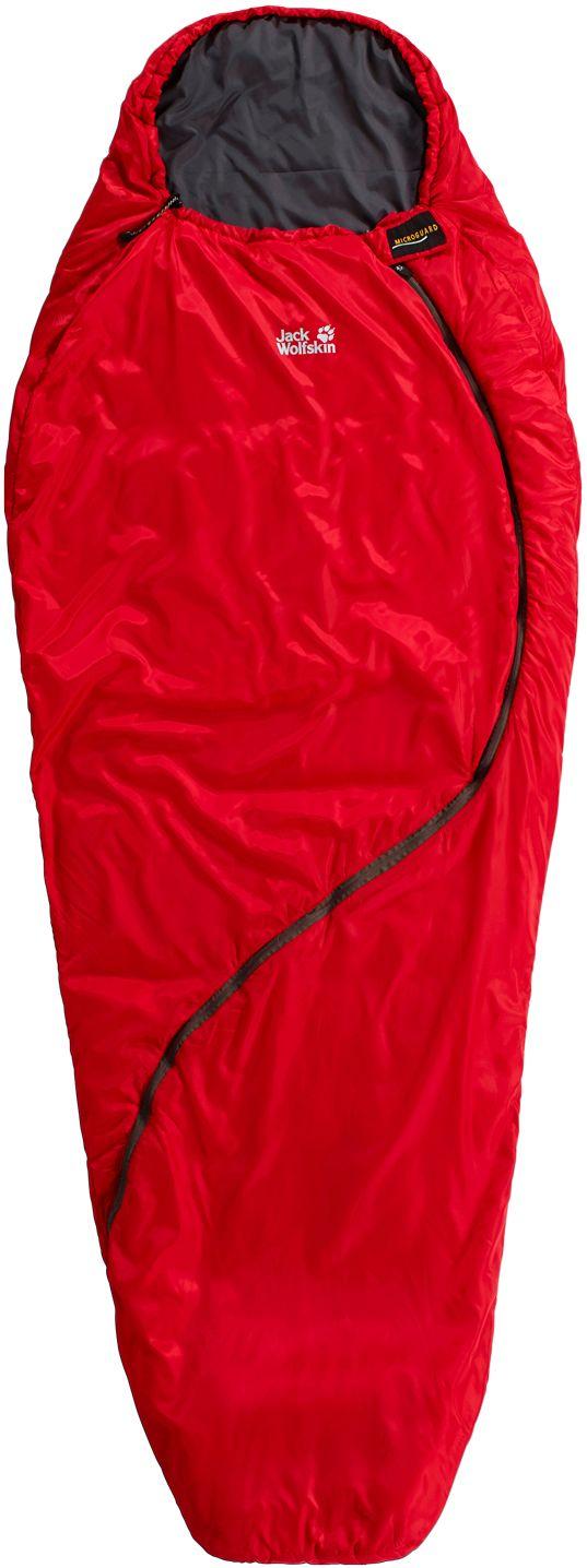 Smoozip +3 Kunstfaserschlafsack Damen in rot