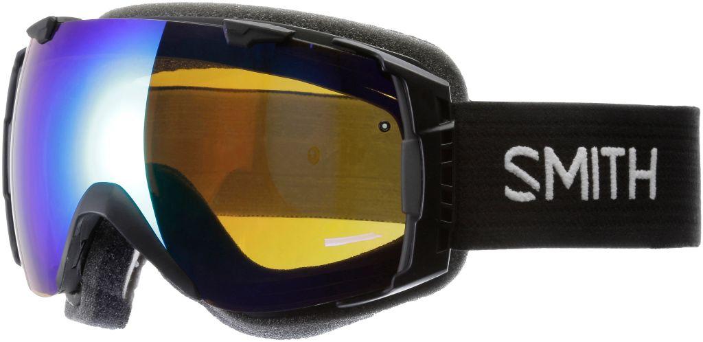 GRN SOLX SP AF BY-RED SENSOR MIRROR Skibrille in schwarz
