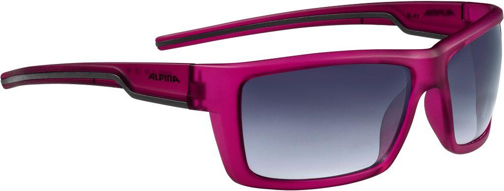 Sportbrille in berry matt