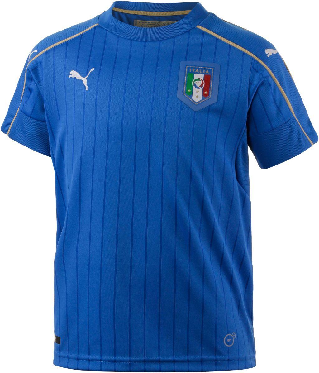 Italien EM 2016 Heim Fanshirt Kinder mehrfarbig, Größe 128