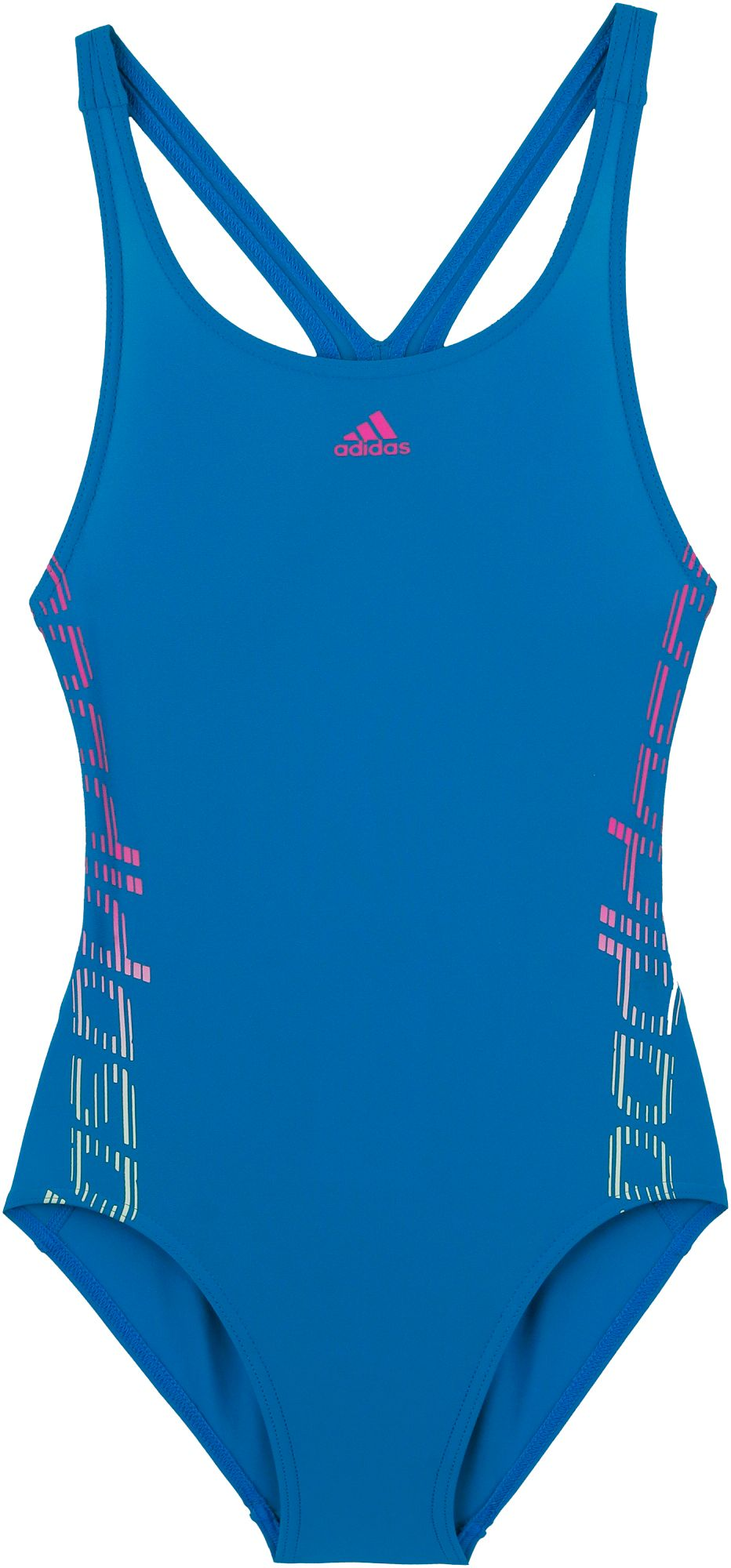 Adidas Badeanzug Mädchen in blau, Größe 116