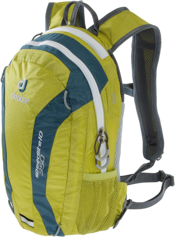Speed Lite 10 Wanderrucksack in grün/dunkelblau