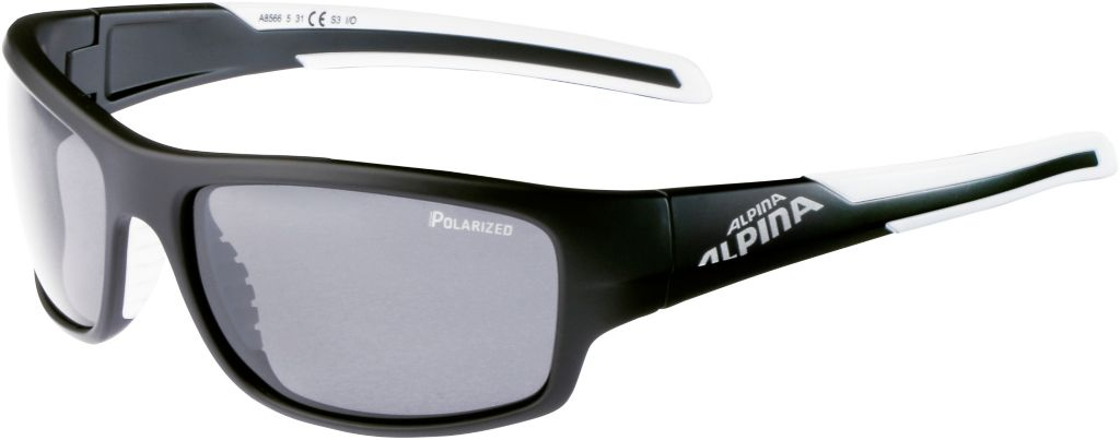 Sportbrille in black matt-white