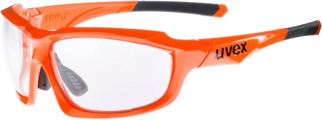 Sportbrille in orange