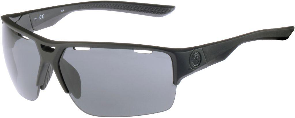 Sportbrille in schwarz