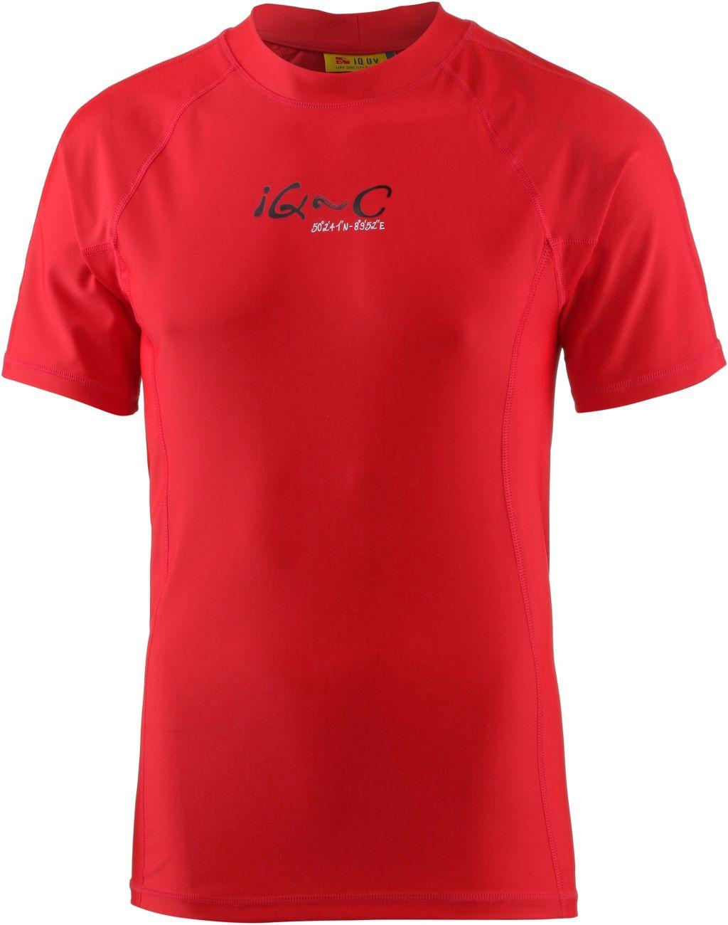 Surf Shirt Herren in rot, Größe XL