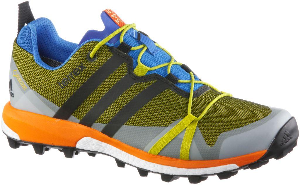 Terrex Agravic GTX Mountain Running Schuhe Herren in gelb, Größe 42 2/3