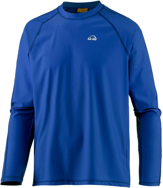 UV-Shirt Herren in blau, Größe S