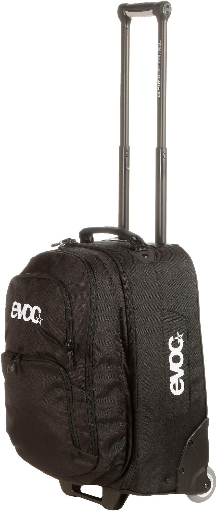 Terminal Bag 40L+20L Trolley in schwarz