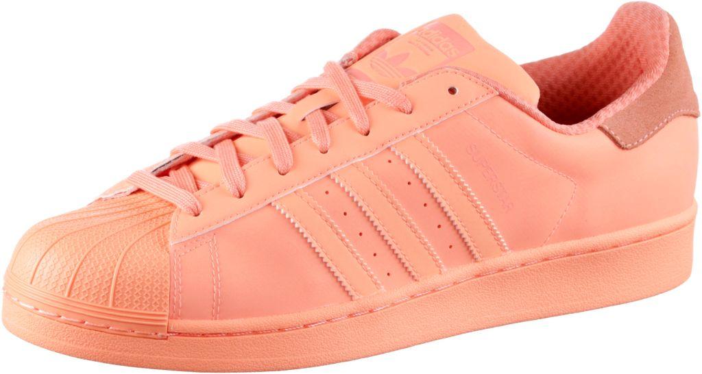 Adidas Superstar Weiß Pink Damen