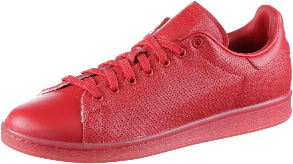 Stan Smith Sneaker in rot, Größe 42 2/3