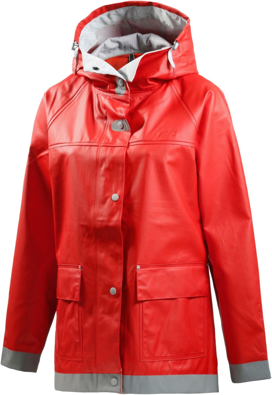 Maseskär Regenjacke Damen in rot, Größe 40