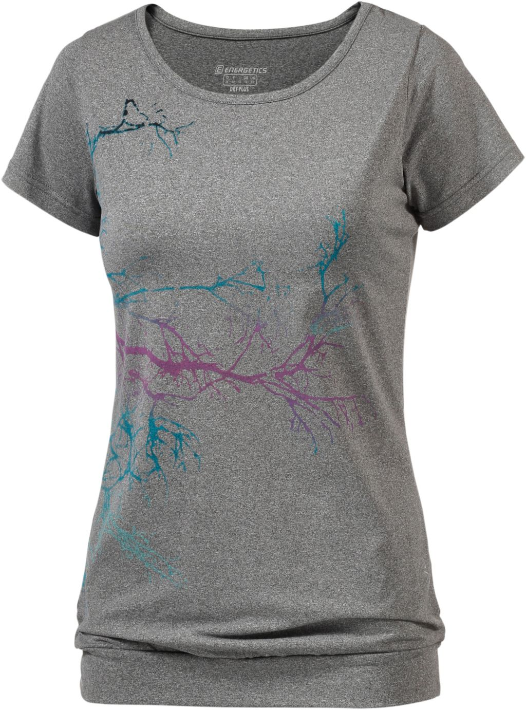 Afina T-Shirt Damen in grau, Größe 38