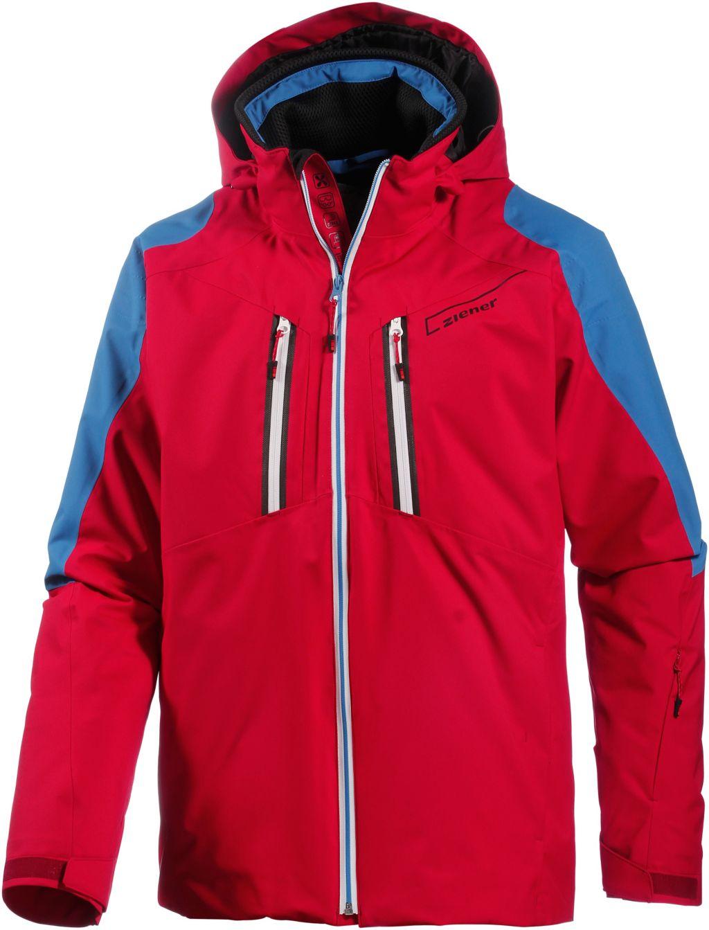 Task Skijacke Herren in rot, Größe 52