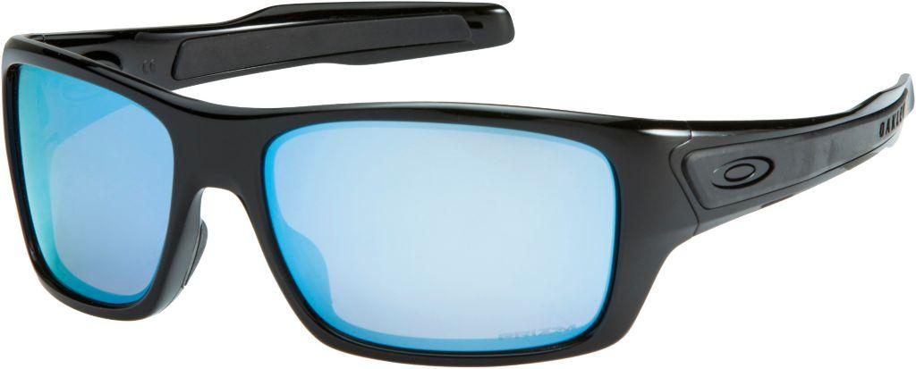 Turbine prizm/polarized Sportbrille in polished black prizm deep water polarized prizm