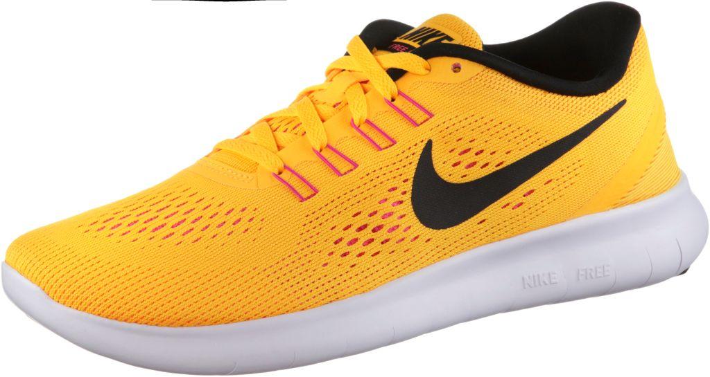 Free Run Laufschuhe Damen in orange, Größe 42