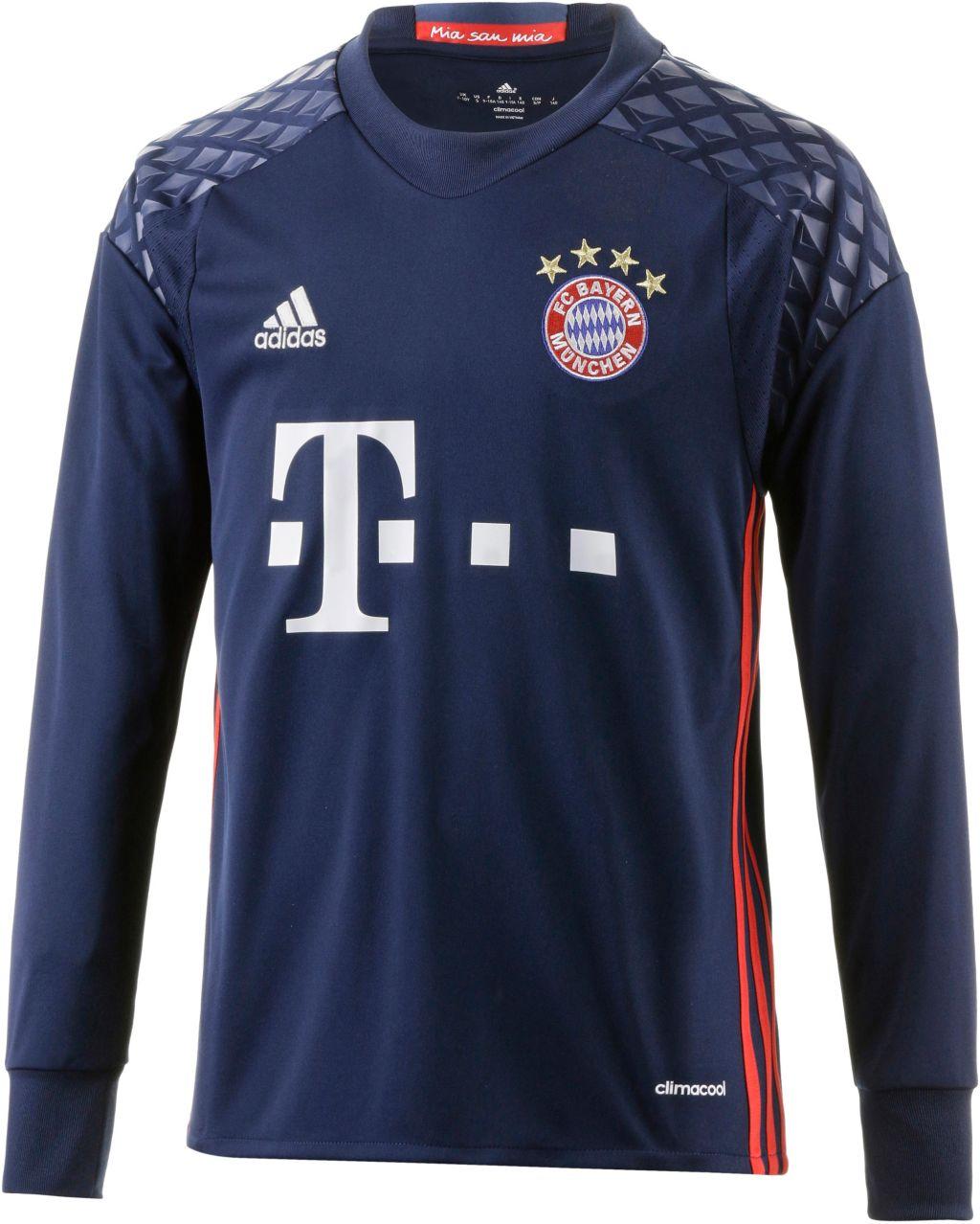 Bild adidas FC Bayern 16/17 Heim Torwarttrikot Kinder