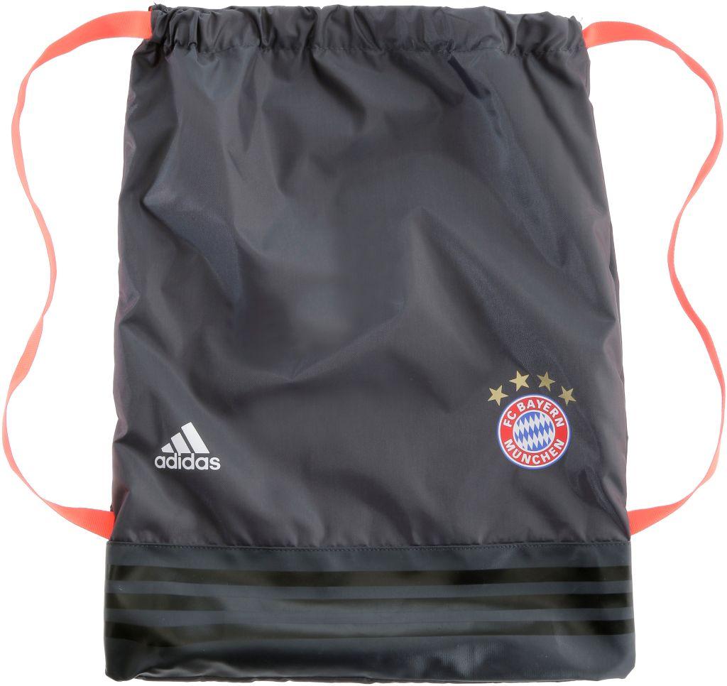 FC Bayern Turnbeutel in grau