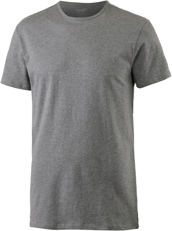 Shirt Doppelpack Herren in grau, Größe M