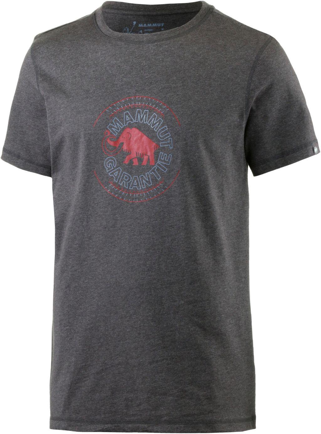 Garantie Klettershirt Herren in grau, Größe XL