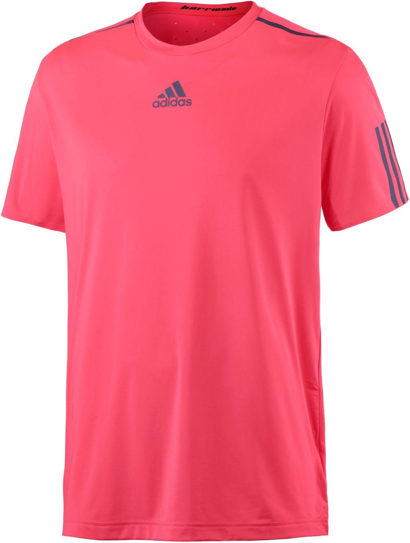 Barricade Tennisshirt Herren in rot, Größe M