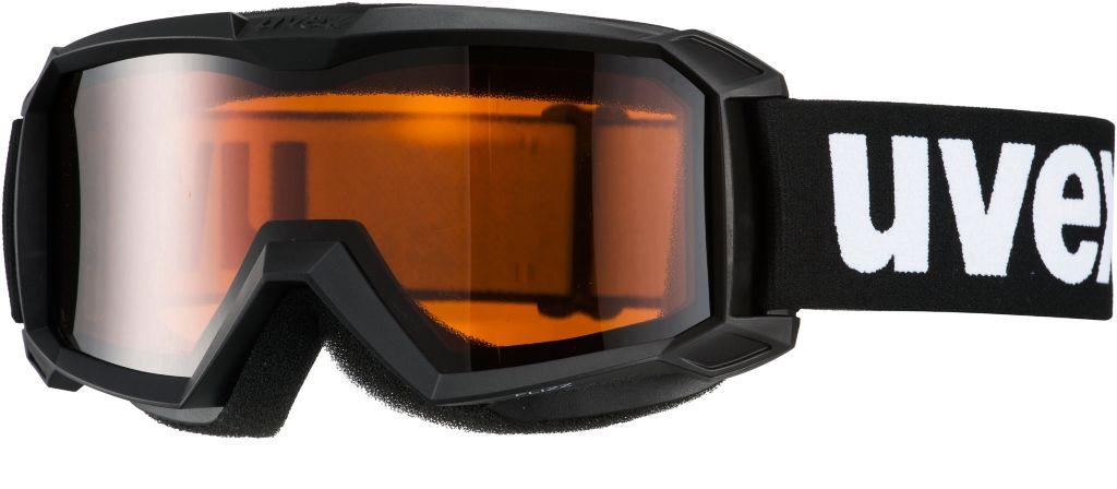 flizz LG Skibrille Kinder in schwarz
